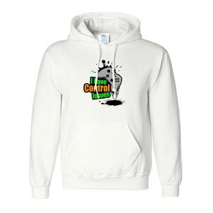 Youth Kids Control Issues Color Pullover Hoodie